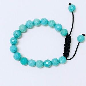 Jewelry - Turquoise Colored Lava Bracelet